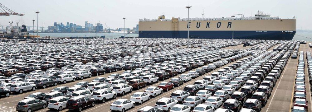 Iraq, Algeria, Lebanon, Turkmenistan and Syria are the main car export markets.