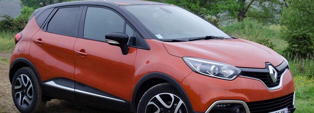 IKCO Again Increases Price of Renault Captur