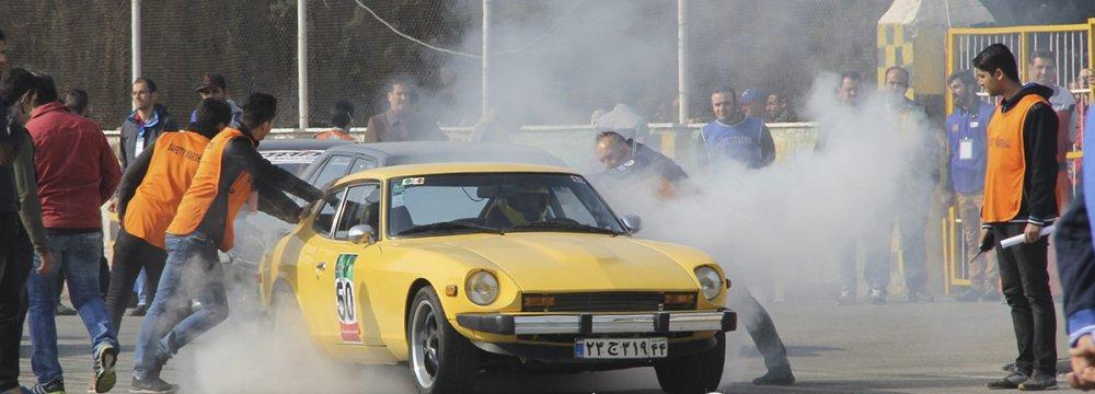 Drag Racing  in Tehran