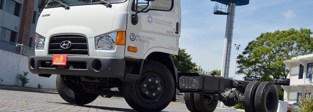 Hyundai Trucks Made in Iran for Iraqi Kurdistan