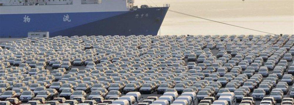 Iran Car Imports Jump 49.6%