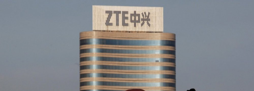 Shares of ZTE have plunged 60%, wiping out more than $11 billion of the company's market valuation.