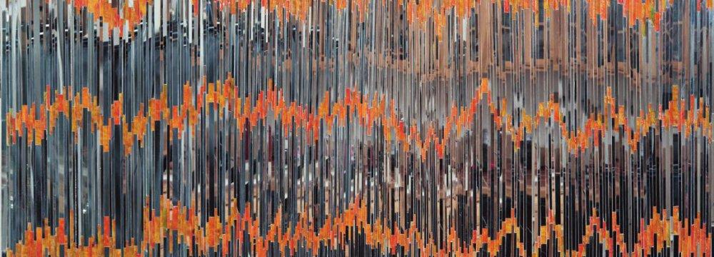 'Heartbeat' by Monir Farmanfarmaian