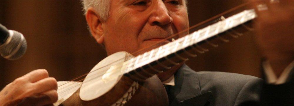 Azeri Tar Master Guliyev to Perform at Vahdat
