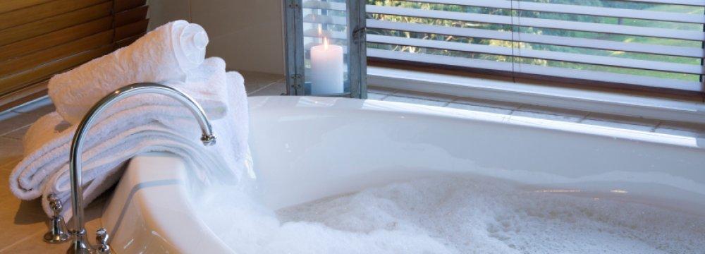 Hot Bath Equals 30-Minute Walk