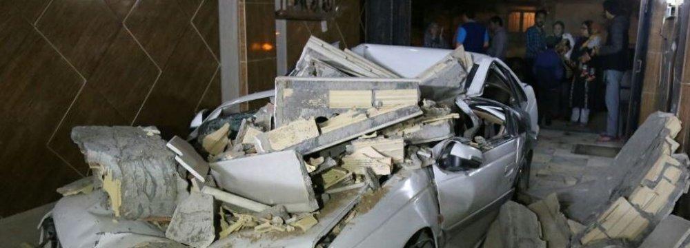 5.7 Magnitude Bojnurd Quake Kills 2, Injures Hundreds