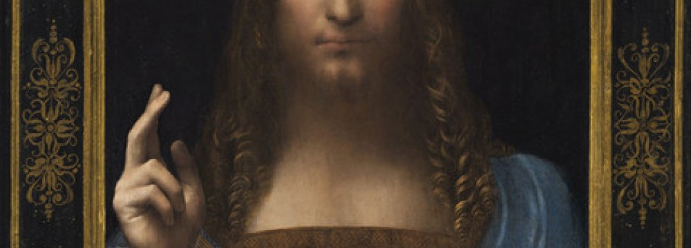 Da Vinci's 'Salvator Mundi' Sold for $450m