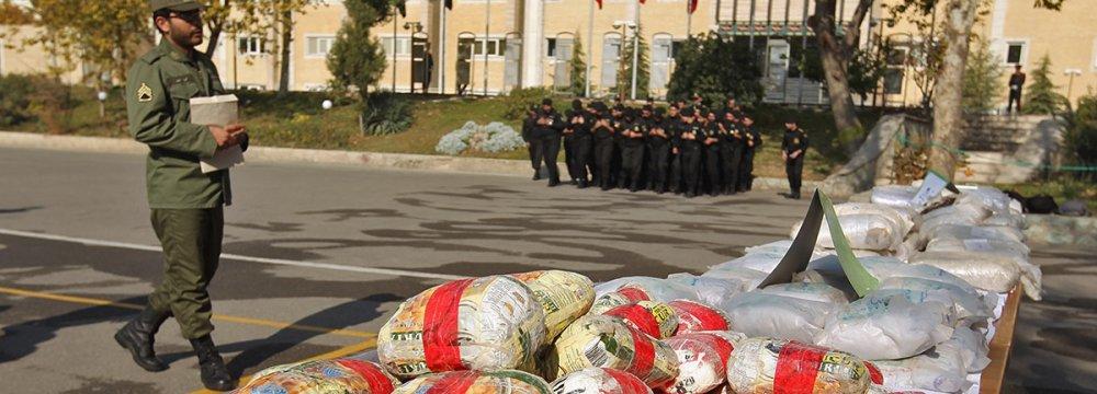Drugs Seized in Sistan
