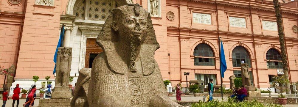 Pharaonic Influence  at Egypt  Art Show