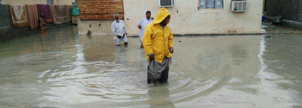 Six Die in Sistan-Baluchestan Floods
