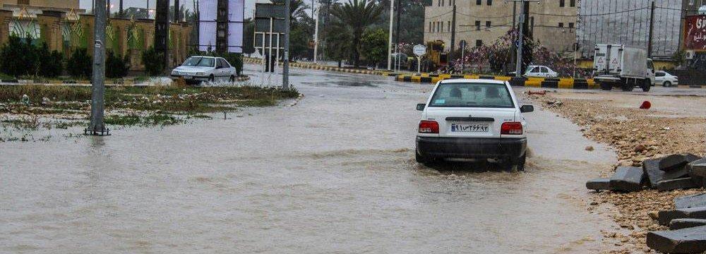 One Dead in Bushehr Floods