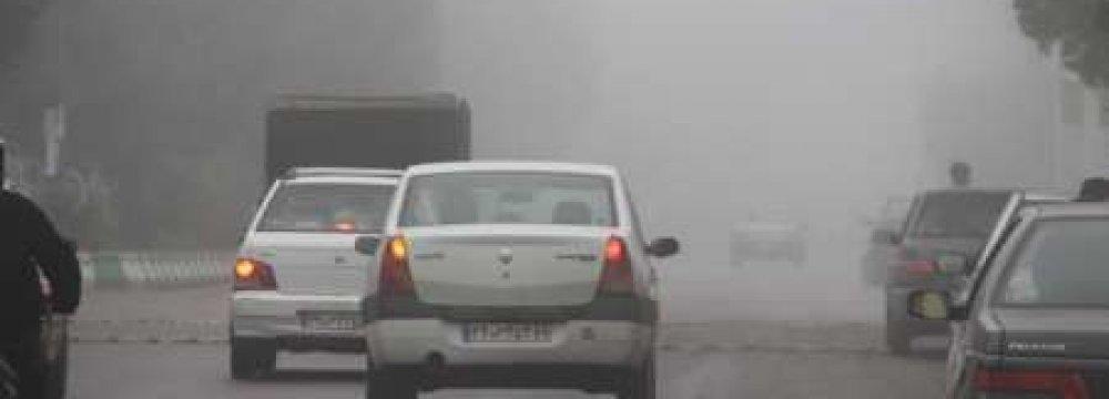 Dense Fog in Khuzestan
