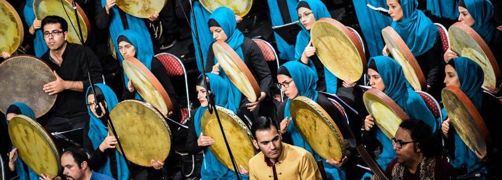 Hushang Ebtehaj's Poetry and Daf Concert at Roudaki