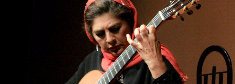 Lily Afshar to Hold Guitar Workshop