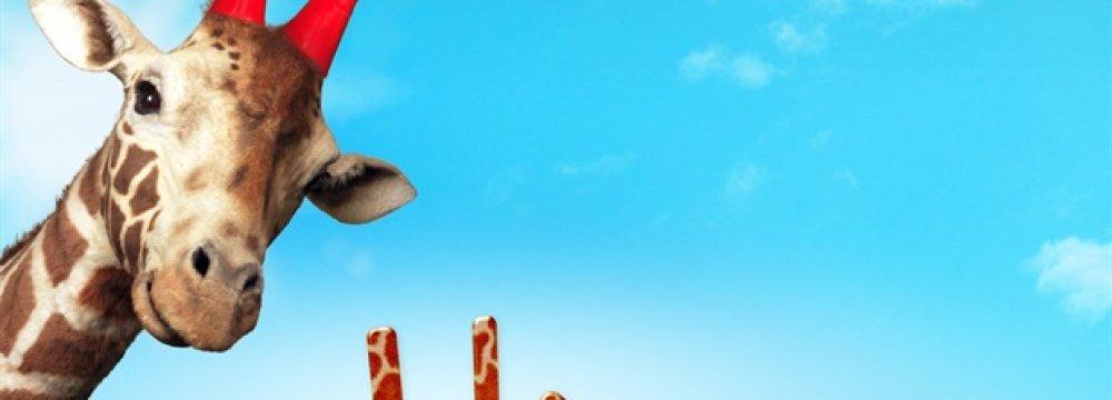 "Poster of the film ""My Giraffe"""