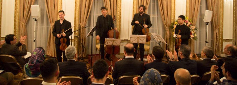 Internava Ensemble in an earlier performance