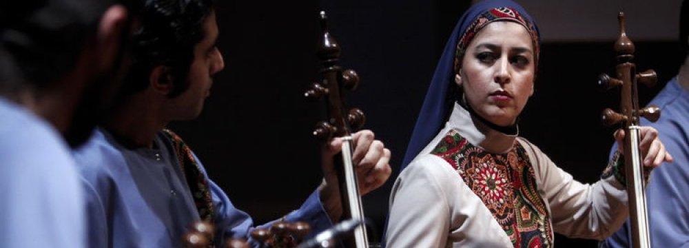 Classical Music Festival Opens  in Roudaki