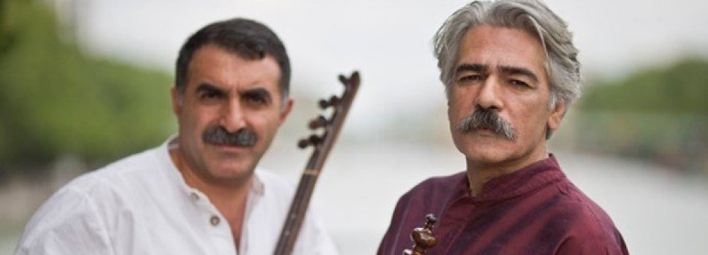 Vahdat Hall  to Host  Kalhor-Erzincan Concert
