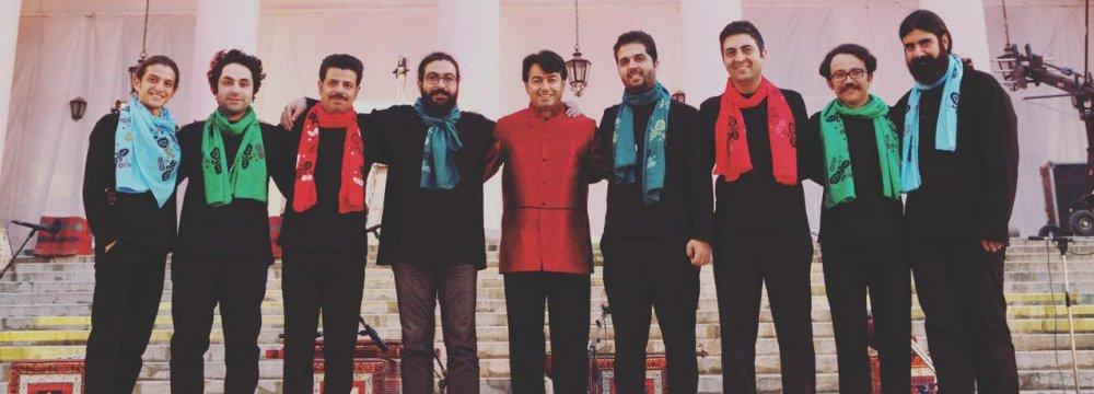 Homay (C) & Mastan ensemble