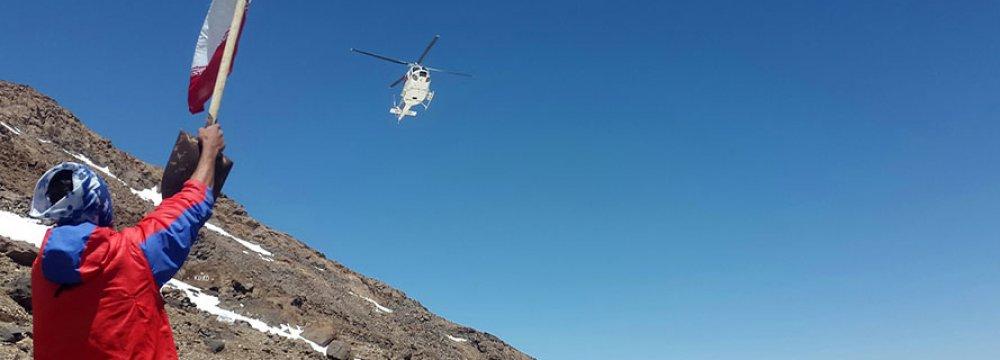 Czech Mountaineer Rescued