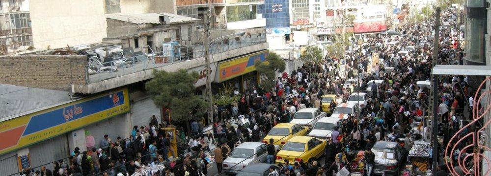 Designated Areas for Norouz Vendors