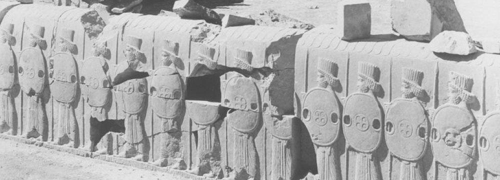 Persian Bas Relief Seized at European Art Fair