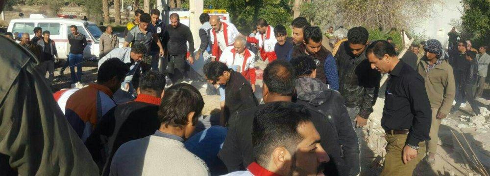 Fars Quake Relief Operations