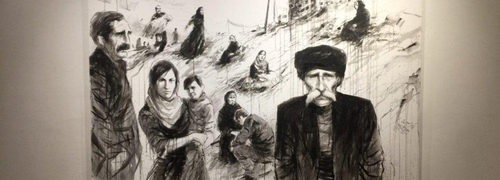 Artworks Sold for Quake-Stricken Kermanshah