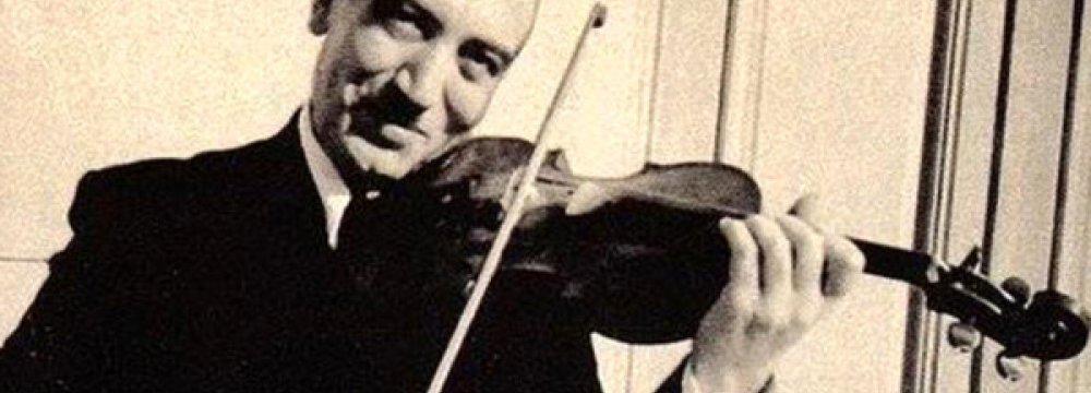 Violin Ceremony Salutes Master Abolhassan Saba