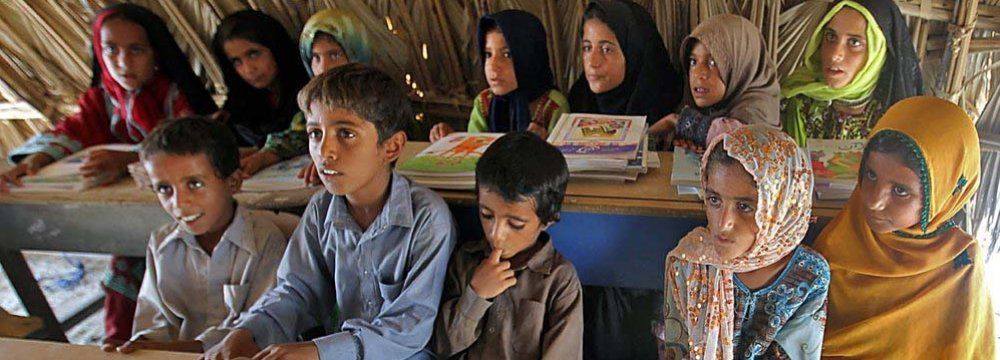 Currently, 1,300 mud-made schools have been identified in the country of which 50% are in Sistan-Baluchestan Province.