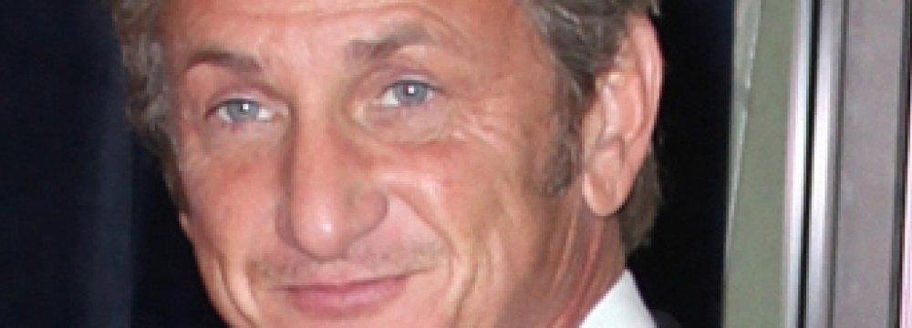 Sean Penn's First Novel Due Next Year