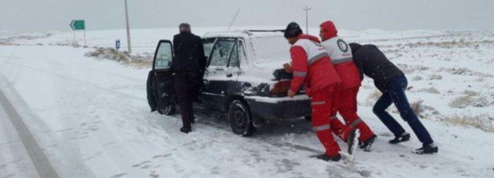 Snow Cripples 10 Provinces