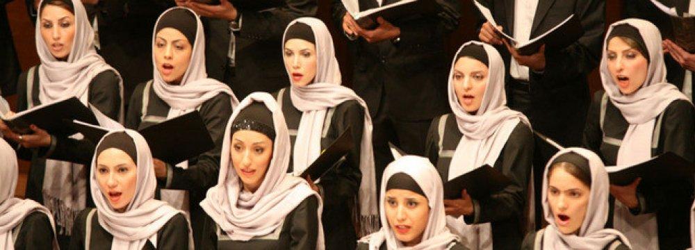 Tehran Choir to Perform for 2 Nights