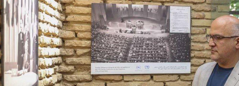 UN-Iran Coop. in Historical Photos, Documents