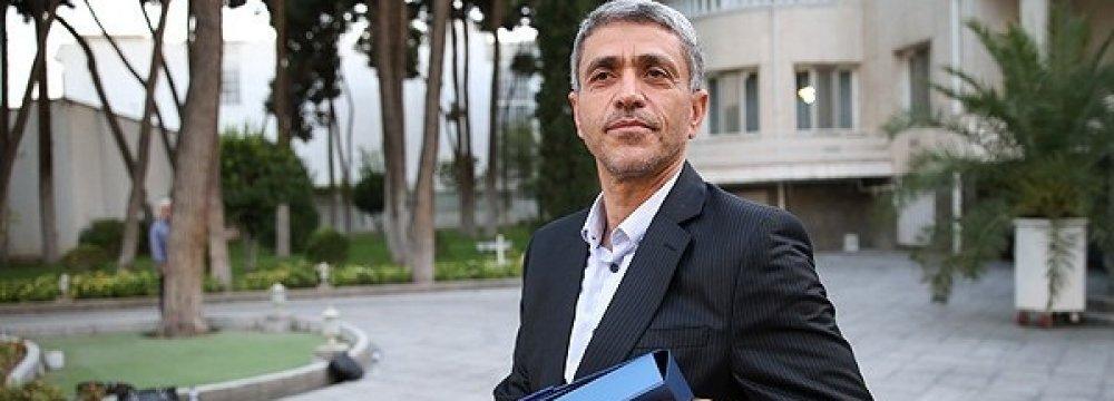 Minister of Economy Ali Tayyebnia
