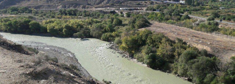 Aras River Not Decontaminated Yet