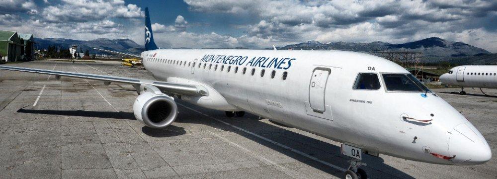 Montenegro to Launch Tehran Charter Flights