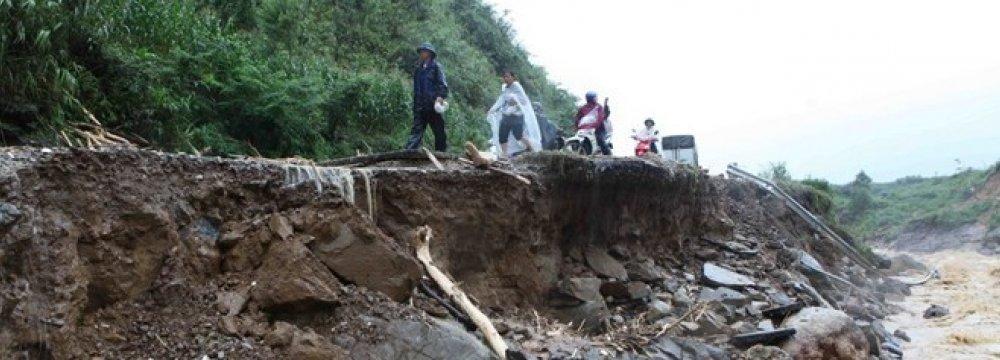 7 Killed in Thailand Landslide