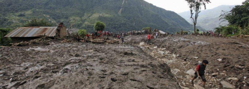 Nine Dead in India Landslide