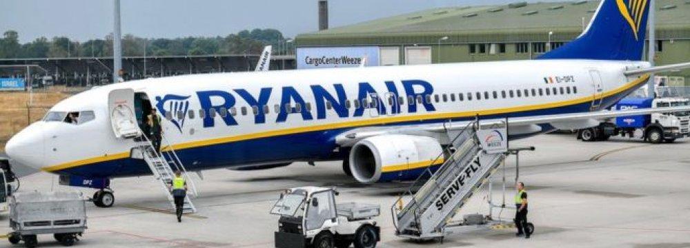 Ryanair Pilot Strike Grounds 1 in 6 Flights