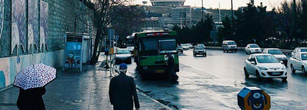 Drop in Tehran Temperature Expected