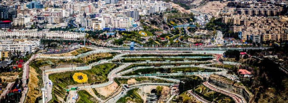 Tehran's 1st Suspended Bridge to Open