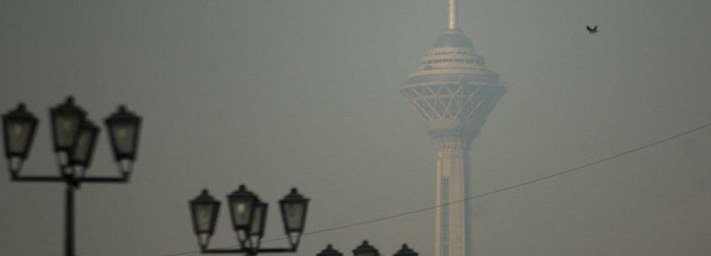 Tehran's Poor Air Quality Persists