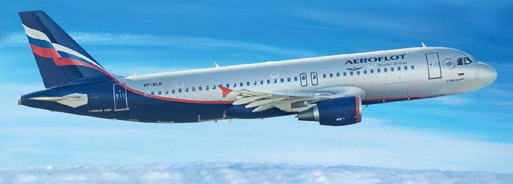 Aeroflot Tops Europe-Asia Passenger Capacity