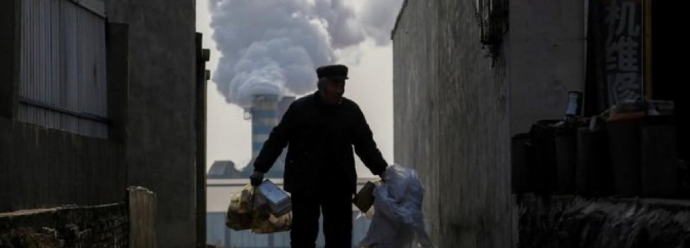 New China Emission Curbs on Industries