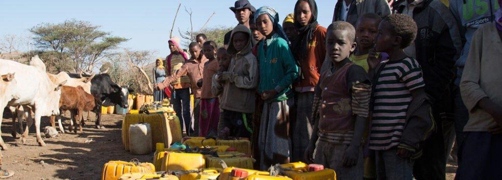 UN Urges Int'l Support for Ethiopia Drought Battle
