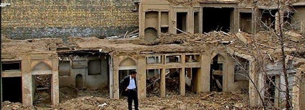 Hamedan Municipality Pressured to Restore Ancient Structures