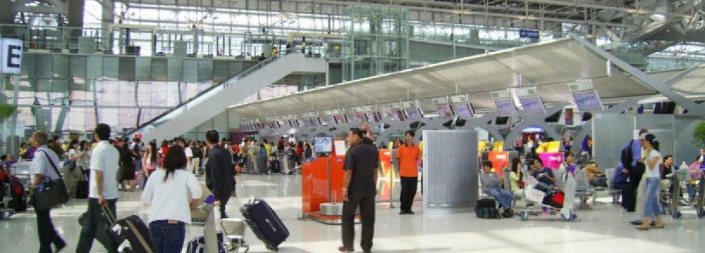 Global demand for air travel rose 7.8% in June.