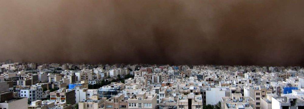 Japan to Help Iranians Combat Dust Storms