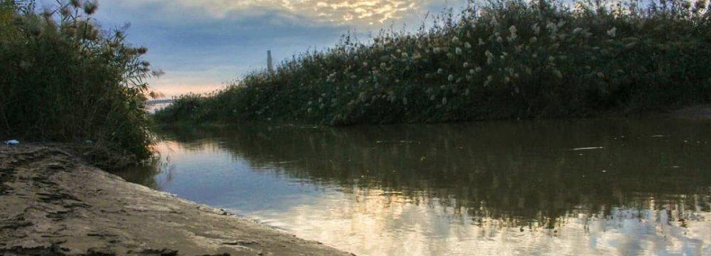 Karoun River Facing Drought